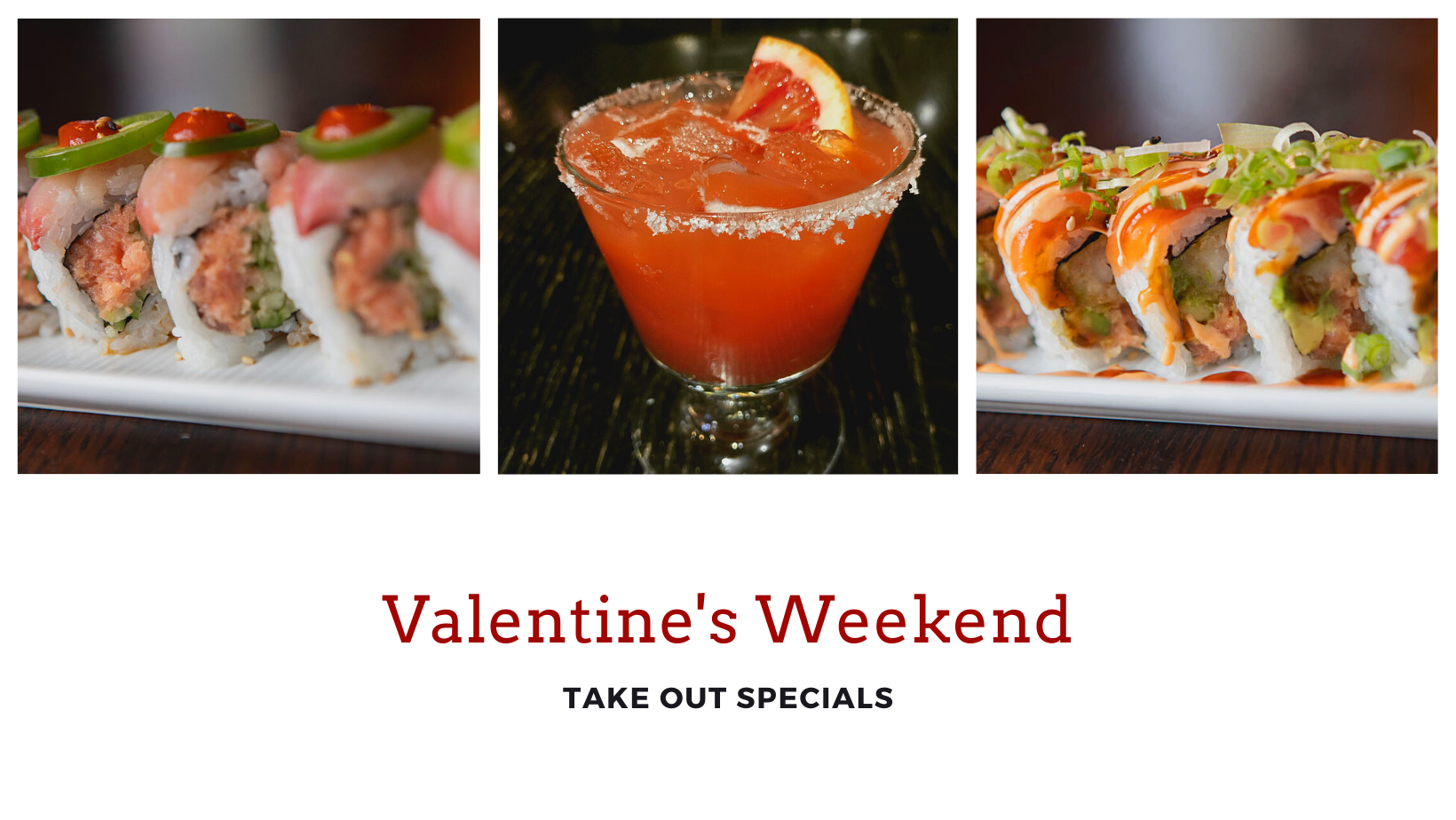 Two Takeout Menus to Choose from This Valentine's Day at The Spot
