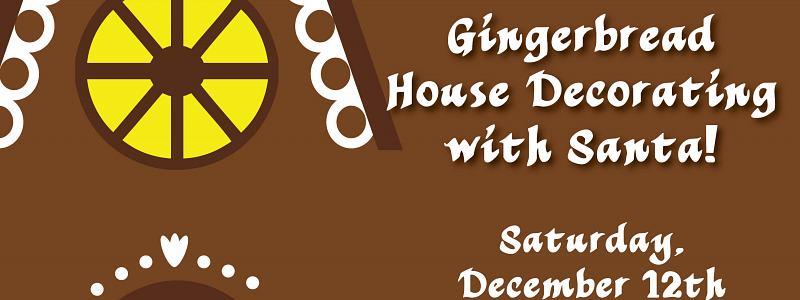 Annual Gingerbread House Making at 15 Walnut