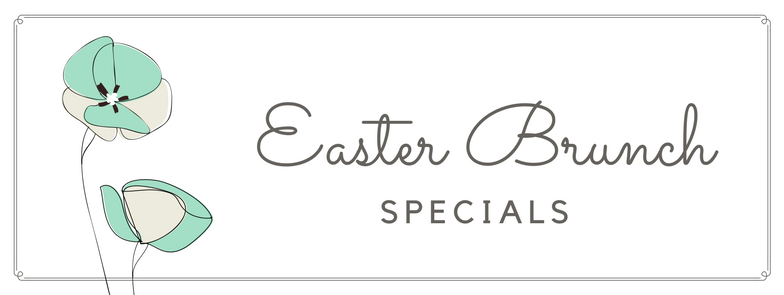 Easter Brunch Specials at TWK